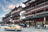 Beautiful yuyuan garden , — Stock Photo