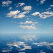 天空背景 — 图库照片