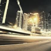 Traffic in Hong Kong — Fotografia Stock