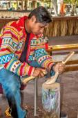 Miccosukee native american — Stock Photo