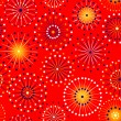 Seamless fireworks pattern — Stock Vector #60297355