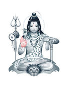 Supreme God Shiva — Stock Vector