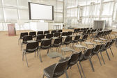 Empty Presentation Conference Room — Stock Photo