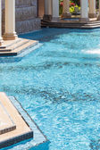 Exotic Luxury Swimming Pool and Hot Tub Abstract — Stock Photo