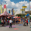 Постер, плакат: Simpsons themed area at the Universal Studios Florida