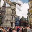 Постер, плакат: The Harry Potter ride at Universal Studios Florida