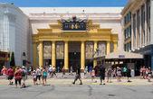 Revenge of the Mummy ride at Universal Studios Florida — Stock Photo