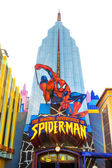 Spiderman ride at Universal Studios Islands of Adventure — Stock Photo