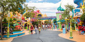 The Seuss Landing Area at Universal Studios Islands of Adventure — Stock Photo
