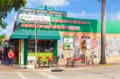 Typical cuban restaurant at 8th Street in Miami — Stock Photo