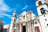 The Cathedral of Havana — Stock Photo
