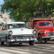 Old classic cars used taxis — Foto Stock #57746327