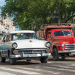 Old classic cars used taxis — Foto de Stock   #57746327