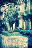 Paseo del Prado street in Old Havana — Stok fotoğraf