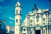 Havana katedrali — Stok fotoğraf
