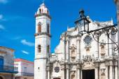 Havana'nın katedrali — Stok fotoğraf