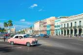 Vintage car in Havana — Stock Photo