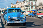 Old american car in Havana — Foto de Stock