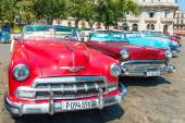 American cars parked — Stockfoto