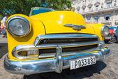 Färgglada amerikanska veteranbilar — Stockfoto