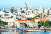 General view of Old Havana — Stock Photo