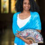 Beautiful young black cuban woman — Stock Photo #75540795