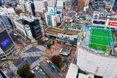 Shibuya Crossing, Tokyo, Japan. — Stock Photo