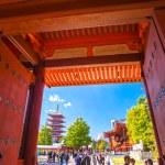 Sensoji-ji, Temple in Asakusa, Tokyo, Japan. — Stock Photo #60710073