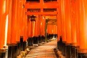 Fushimi inari taisha Temple à kyoto, — Photo