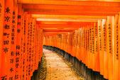 Fushimi inari-taisha-schrein in kyoto, — Stockfoto