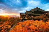 Kiyomizu-dera Temple in Kyoto, Japan — Stock Photo