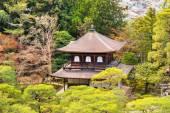 Ginkakuji (Silver Pavilion), Kyoto, Japan. — Stock Photo
