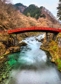 Nikko sacred Bridge, Japan. — Stock Photo