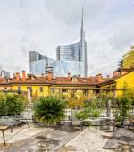 Porta Nuova Area, Milan, Italy. — Stock Photo