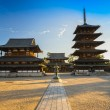 Horyu-ji Temple in Nara, Japan — Stock Photo #63862327