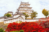 Himeji Castle, Japan. — Stock Photo