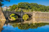 Imperial Palace, Tokyo. — Stock Photo