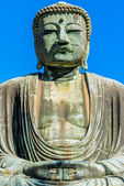 Kamakura Buddha statue — Stock Photo