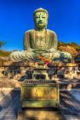 Kamakura Buddha statue — Stock Photo