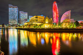 Yokohama city in Japan — Stock Photo