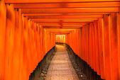 Фусими Инари Тэйшы, Киото — Стоковое фото