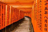Fushimi inari taisha shrine en kyoto — Foto de Stock