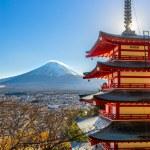 Постер, плакат: Mount Fuji in Japan