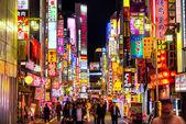 Kabuki-Cho district in Tokyo — Stock Photo