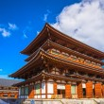 Yakushi-ji Temple in Nara, Japan — Stock Photo #74630901