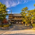 Horyu-ji Temple in Nara, Japan — Stock Photo #74631761