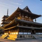 Horyu-ji Temple in Nara, Japan — Stock Photo #74632057