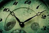 Detail Texture of Clock Watch Time — Stock Photo