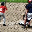Baseball Batter adn Fence — Stock Photo #51915739
