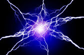 Pure Energy and Electricity Symbolizing Power — Stock Photo